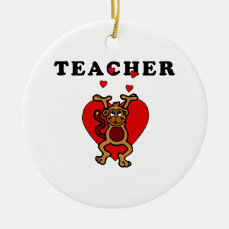 Ornamento De Cerâmica Divertimento do professor