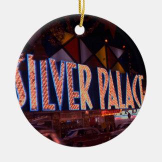 Ornamento De Cerâmica Do casino de prata do palácio de Las Vegas sinal
