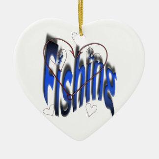 Ornamento De Cerâmica dobrar do amor