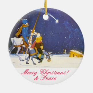 Ornamento De Cerâmica DON QUIXOTE - Adorno de Navidad