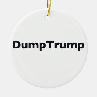 Ornamento De Cerâmica DumpTrump