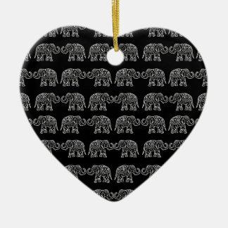 Ornamento De Cerâmica Elefantes indianos