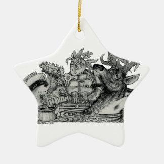 Ornamento De Cerâmica Escondido Wallow a banheira de hidromassagem