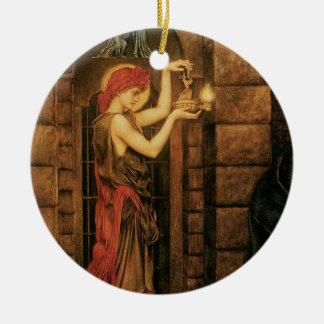 Ornamento De Cerâmica Esperança em uma prisão do desespero por Evelyn De