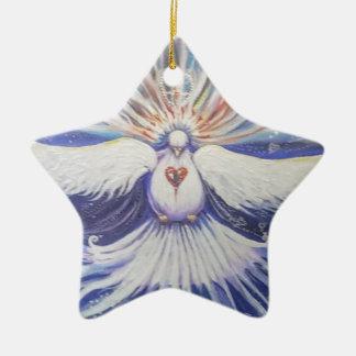 Ornamento De Cerâmica Estrela da manhã
