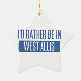 Ornamento De Cerâmica Eu preferencialmente estaria em West Allis