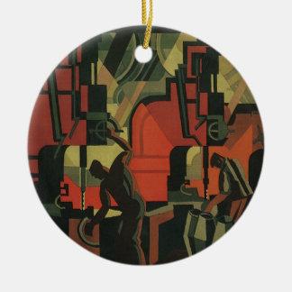 Ornamento De Cerâmica Fabricação industrial do negócio do art deco do