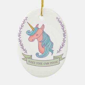 Ornamento De Cerâmica Faça sua própria mágica!