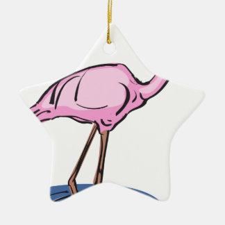 Ornamento De Cerâmica flamingo #13