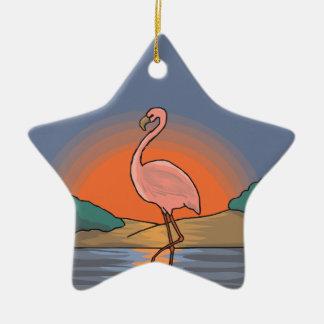 Ornamento De Cerâmica flamingo #14