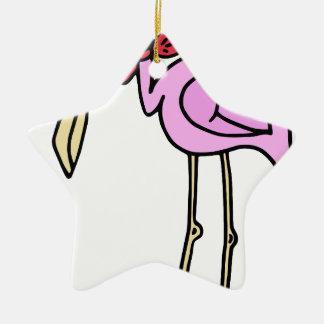 Ornamento De Cerâmica Flamingo #4