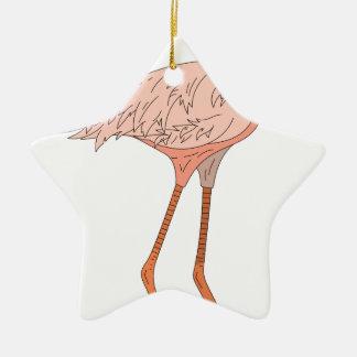 Ornamento De Cerâmica Flamingo #5