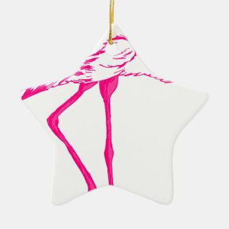 Ornamento De Cerâmica Flamingo #8