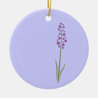 Ornamento De Cerâmica Flor da lavanda