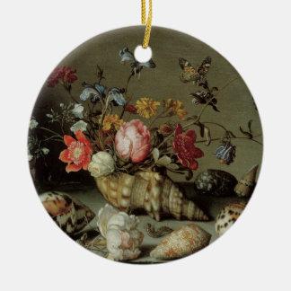 Ornamento De Cerâmica Flores, escudos e Inseto Balthasar camionete der