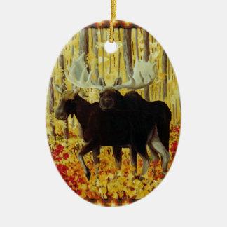 Ornamento De Cerâmica Fogo do outono