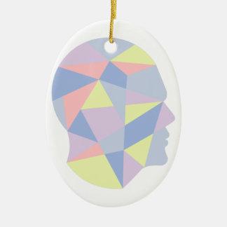 Ornamento De Cerâmica Formas geométricas dentro do design do abstrato da
