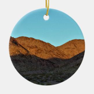 Ornamento De Cerâmica Foto da montanha