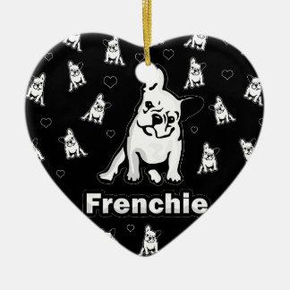 Ornamento De Cerâmica Frenchie