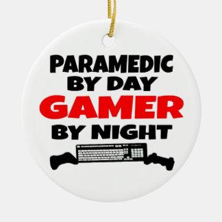 Ornamento De Cerâmica Gamer do paramédico