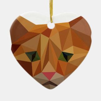 Ornamento De Cerâmica Gatinho de Digitas