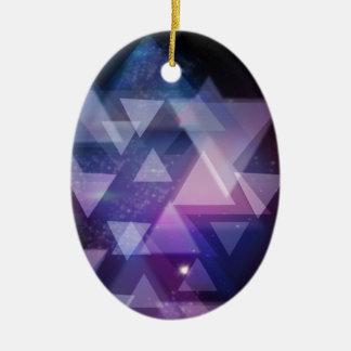 Ornamento De Cerâmica geométrico