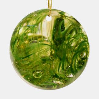 Ornamento De Cerâmica Globo da alga