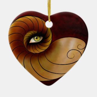 Ornamento De Cerâmica Grassonius V1 - olho de observação