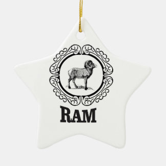 Ornamento De Cerâmica guerreiro da ram