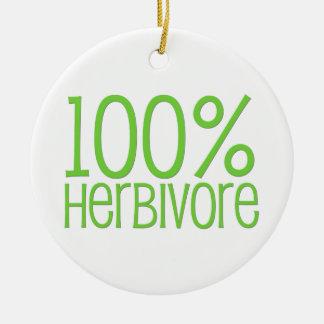 Ornamento De Cerâmica Herbívoro 100%