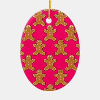 Ornamento De Cerâmica Homens de pão-de-espécie