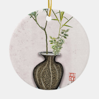Ornamento De Cerâmica Ikebana 6 por fernandes tony