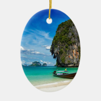 Ornamento De Cerâmica Ilha de Krabi