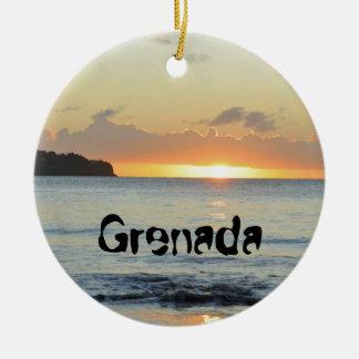 Ornamento De Cerâmica Ilha tropical em Grenada
