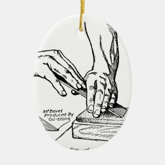 Ornamento De Cerâmica Ilustração Whetting do ferro