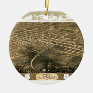 Ornamento De Cerâmica independence1868