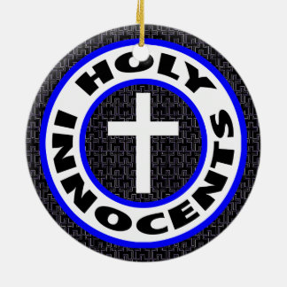 Ornamento De Cerâmica Innocents santamente