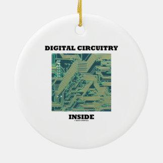 Ornamento De Cerâmica Interior dos circuitos de Digitas (o conselho de