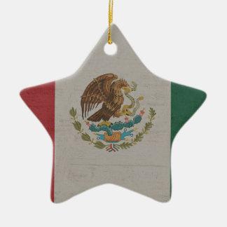 Ornamento De Cerâmica International da bandeira de México