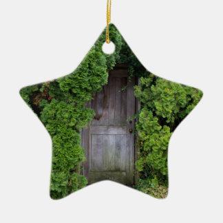 Ornamento De Cerâmica Jardim secreto 2