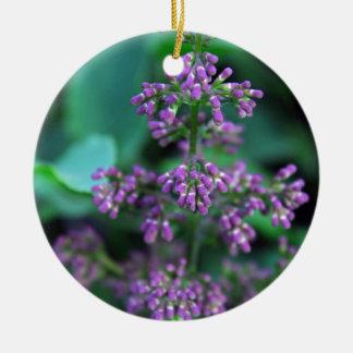 Ornamento De Cerâmica Lilacs do amanhecer