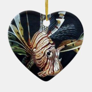 Ornamento De Cerâmica Lionfish
