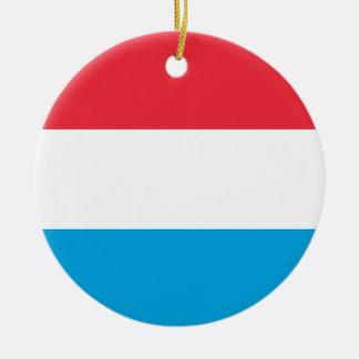 Ornamento De Cerâmica Luxembourg EMBANDEIRA