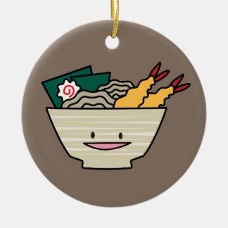 Ornamento De Cerâmica Macarronetes do japonês do camarão do nori da