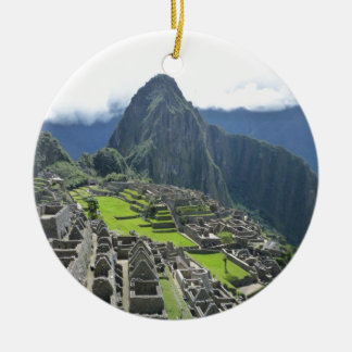 Ornamento De Cerâmica Machu Picchu