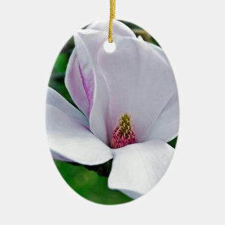 Ornamento De Cerâmica Magnólia elegante