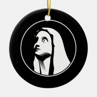 Ornamento De Cerâmica Mary