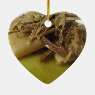 Ornamento De Cerâmica Massa tradicional de Paccheri do italiano com