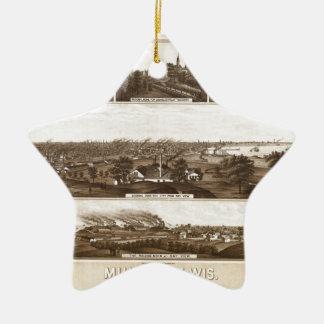 Ornamento De Cerâmica milwaukee1882