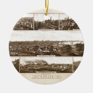 Ornamento De Cerâmica Milwaukee 1882